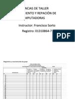 Diagnóstico y Caracterización de Grupo