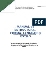 Manual de Estructura Nuevo 2017