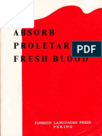 Absorb Proletarian Fresh Blood - 1968