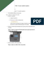 Manual Cambio Laser Escaner MFP M521