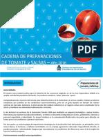 Ficha Cadena Preparaciones de Tomate Enero 2017