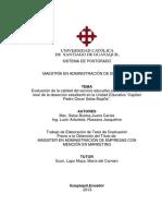 Evaluación de la calidad del servicio educativo para determinar el nivel de la deserción estudiantil en la Unidad Educativa.pdf