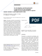 Kinetic and mechanistic investigations and thermodynamic quantities for different steps involved in the mechanism of oxidation of procainamide by hexacyanoferrate(III) in aqueous alkaline medium