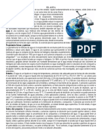 El Agua y Globalizacion