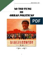 Mao Obras Politicas III