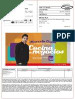 Factura Del 01 Al 30 de Mayo 2015