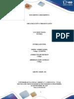 Unidad 1 Paso 2 Organización y Presentación