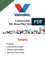 Charla Tecnica Valvoline