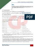 APOSTILA - PRODUTOS NOTÁVEIS E FATORAÇÃO DE POLINÔMIOS