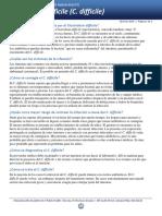 Clostridium Difficile Sp