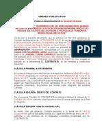 Modelo de Contrato Para Adquisición de Bienes
