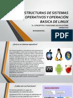 Conceptos y Funciones de Sistemas Operativos