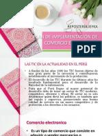 Plan de Implementación de Una Plataforma Para Tienda Online Pasteleria - Arroyo Acosta - Prof Cronwell Mairena Rojas - Diapositiva