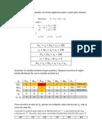 Deber 3 - Método Simplex