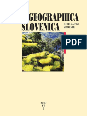 Ags Terraced Landscapes 57 2 2017 Slovenia Databases