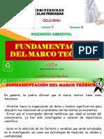 8.1. Fundamentación Del Marco Teorico de La Investigacion