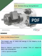 Energy Savings in Prime Movers - Motors