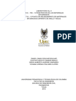 Informe 9. Punto de Ablandamiento y Penetrometro