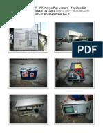 Photo Report-cable Fault Bojonegoro-tripatra