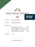 Derivados Del Propileno