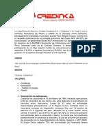 La Caja Rural de Ahorro y Crédito Credinka S.docx