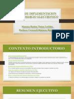 Plan de Implementación de Una Plataforma Para Tienda Online Venta de Ropa de Damas- Tume Lachira - Prof Cronwell Mairena Rojas - Diapositiva