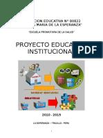 Proyecto Educativo Institucional 2010 Ok
