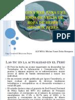 Plan de Implementación de Una Plataforma Para Tienda Online de Venta de Ropa de Bebes - Zeña Siesquen - Prof Cronwell Mairena Rojas - Diapositiva