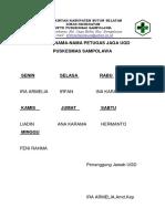 Daftar Nama Petugas