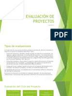 Gestion y Evaluacion de proyectos post-inversion
