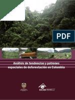 Análisis de tendencias y patrones espaciales de deforestación en Colombia