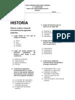 HISTORIA Y GEOGRAFÍA 4° BLOQUE I