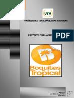 Informe Del Proyecto Final de Admon II Boquitas Tropicales Importante