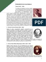 154007718 Presidentes de Guatemala Desde 1821 2012
