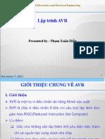 Lap Trinh AVR