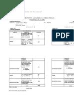 Forma de Evaluación FILO