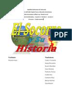 Historia Del Municipio El Socorro