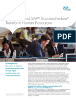 Capgemini and Successfactors Transform Human Resources