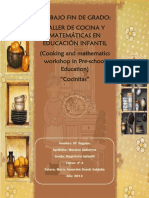 Taller de Cocina y Matematicas Educacion