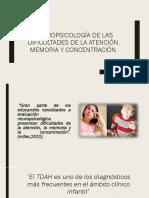 Neuropsicología de Las Dificultades de La Atención[1]