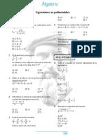 Repaso Nº 4 - Álgebra - Pitagoras