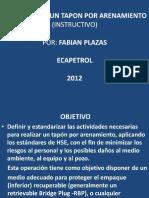 EXPOCICION UBICACIÓN DE UN TAPON POR ARENAMIENTO.pptx