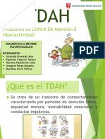 EL TDAH-Trastorno de Déficit de Atención E Hiperactividad