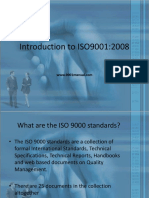 Introduction to ISO 9001 2008