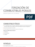 Caracterizacion de Combustibles Fosiles