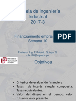 Financiamiento Empresarial-semana 10