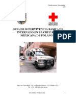 Guia de Supervivencia Basica Para La Cruz Roja