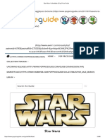 Star Wars Collectibles _ Pop Price Guide
