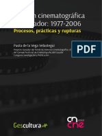 Gestion Cinematografica en Ecuador 1977 2006 Paola de La Vega 2016 Tablas