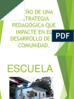 Diseño de Una Estrategia Pedagógica Que Impacte En